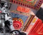 Hanuman, the monkey god, in the Attukal Devi Temple