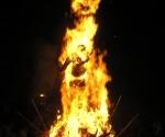 Holika burns