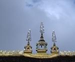 The roof of Wat Simuang