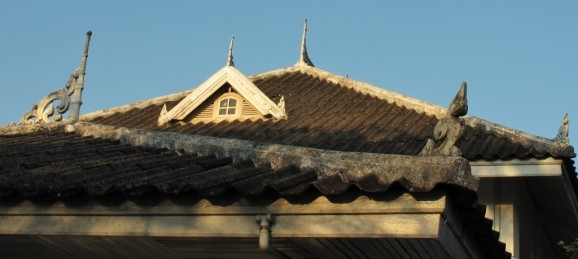 Rooftop detail