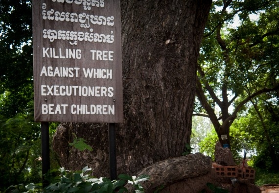 The Killing Tree at Choeung Ek