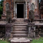 Preah Ko, a part of Angkor's oldest capital, Roulos