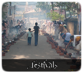 Festivals of colour, water, women and wine