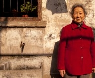 An illiterate old lady in a Shanghai linglong that was due for demolition last year. We spoke to her on camera.