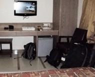 A superior room at Hotel Samrat